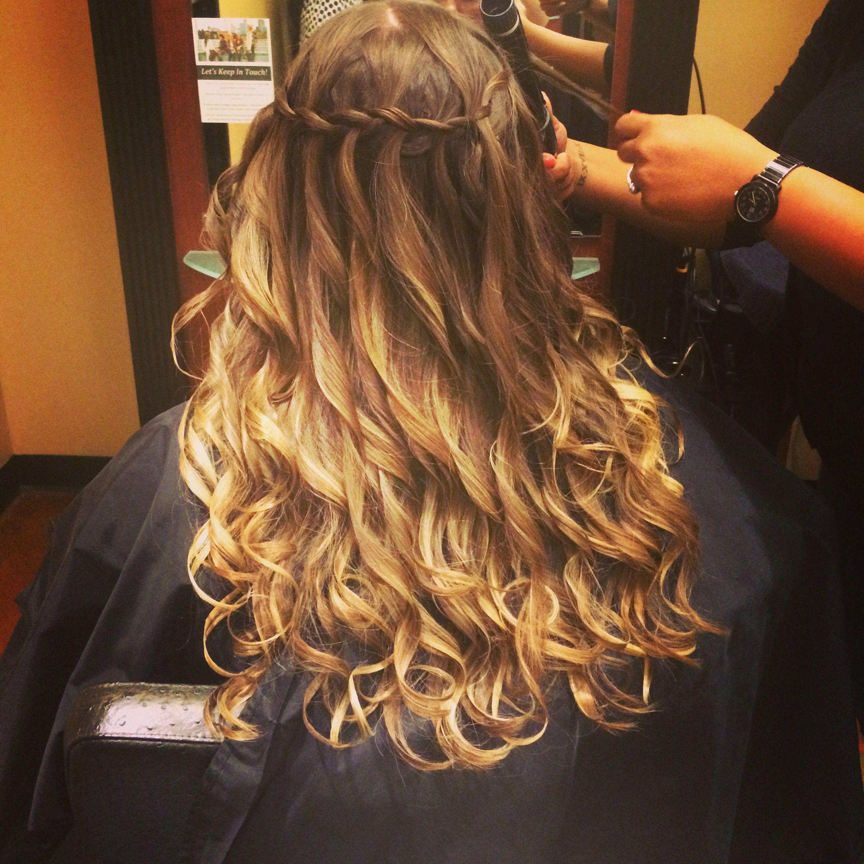 Pin by Hannah Bucciarelli on hair | Waterfall braid with ...