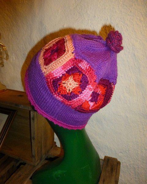 """Häkelmützen - Granny Mütze """"Emma"""" - ein Designerstück von CrochetManiac bei…"""