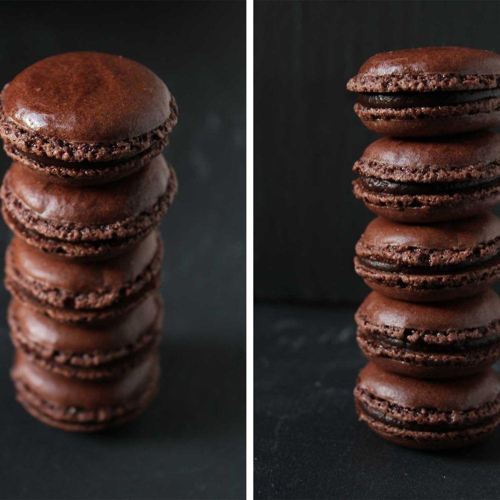 Tonka & Chili Chocolate Macarons | Recipe | Macarons, Chocolate ...