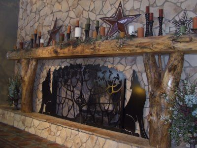 rustic fireplace mantels. Rustic Fireplace Mantel More Mantels