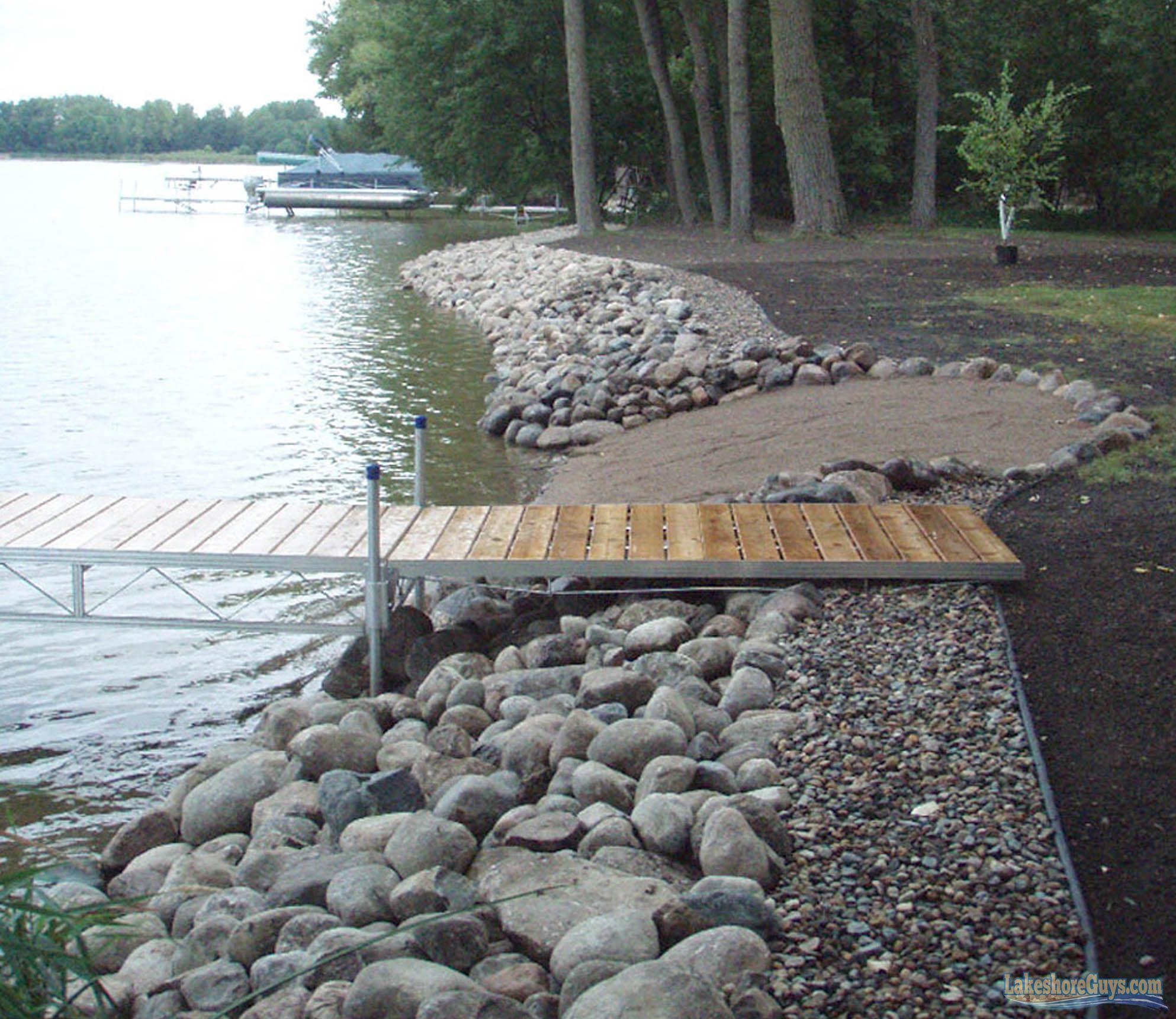 riprap shoreline restoration