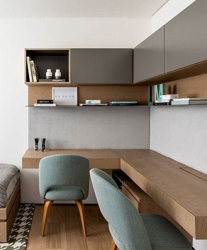 9 Stunning Small Home Office Furniture Design Ideas 3 « A