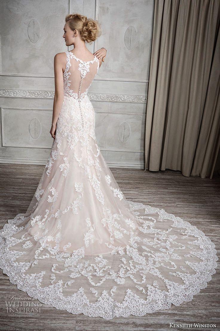 Kenneth Winston Fall 2017 Wedding Dresses   Sweetheart