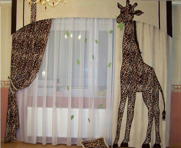 cortinas tematicas 2016 Habitacion pichus Pinterest Cortinas - cortinas para ventanas
