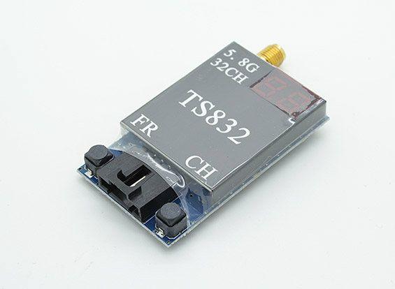 (Buy here: http://appdeal.ru/2sva ) Boscam TS832 32Ch 5.8GHz 600mw 5km Wireless AV TX FPV Transmitter w/ 2 AV Cable for just US $29.99