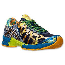 reputable site b8944 c4c86 Men s Asics GEL-Noosa Tri 9 GR Running Shoes   Finish Line   Gold  Ribbon Blue Lime