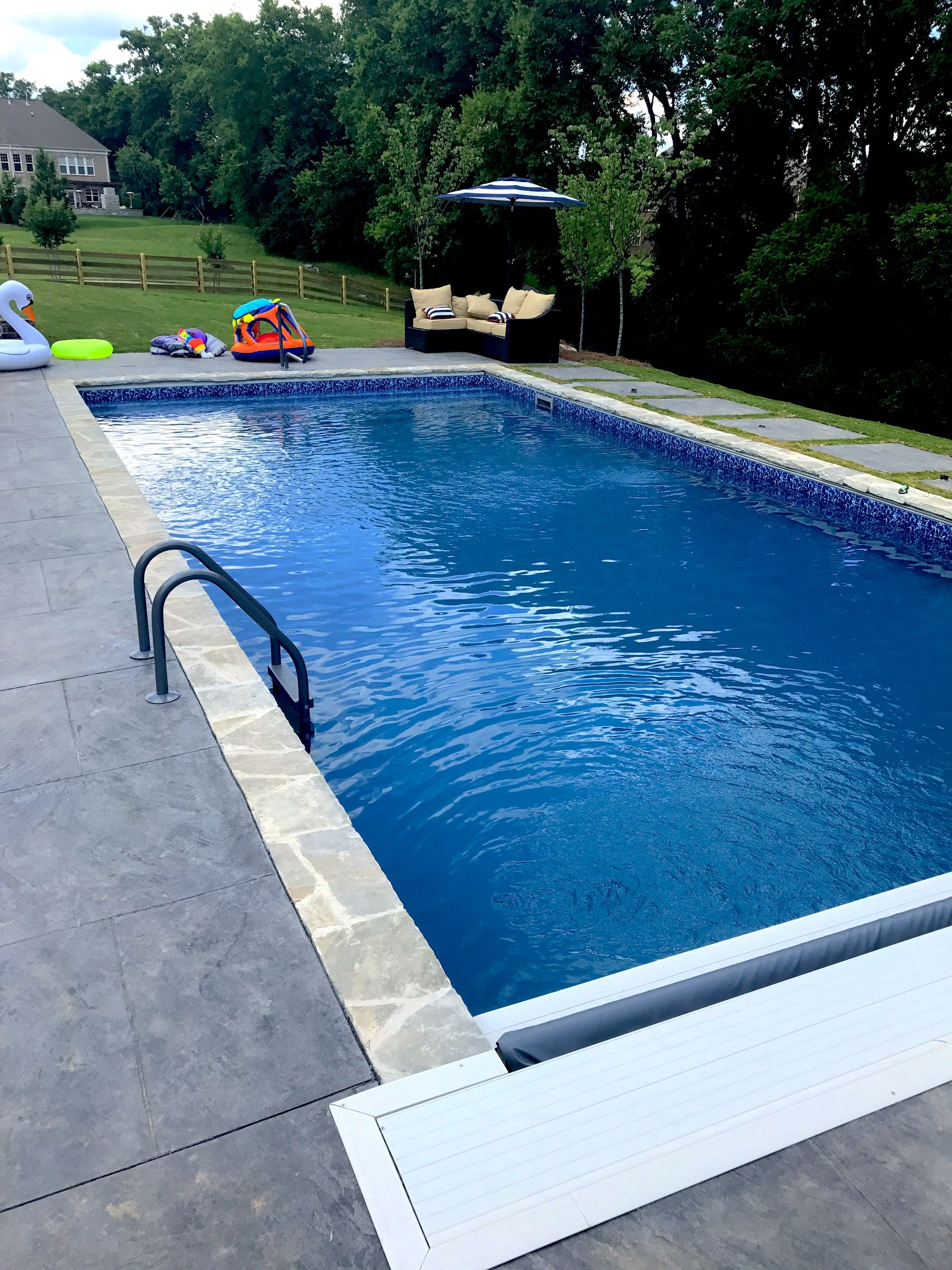 Pool And Spa Depot 18 X 38 Concrete Wall Pool