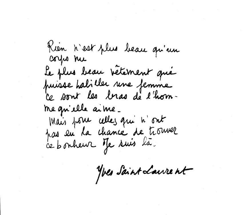 Ysl Quote Quote Aesthetic Cool Words French Quotes
