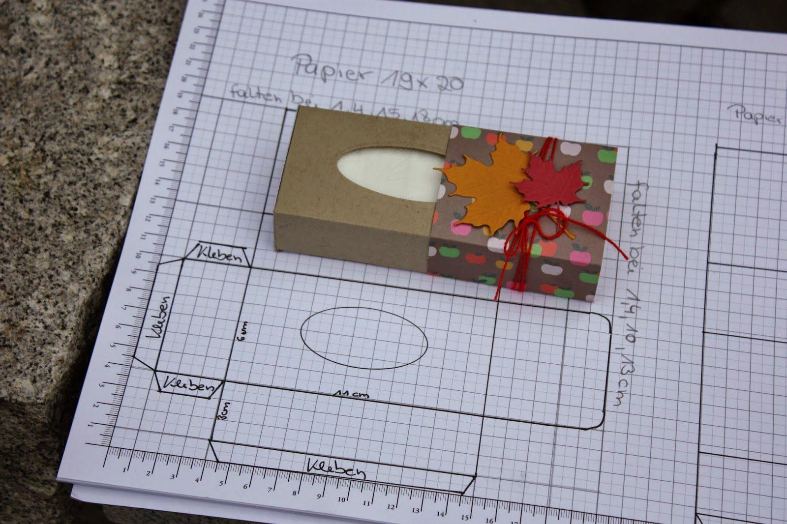 Taschentuchbox mit Verschluß | Stampin up Verpackungen | Pinterest ...