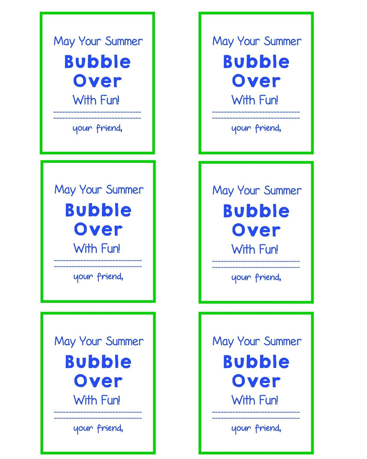 9179b0e9e End of School Year Gift Bubble Gift Tags and FREE Printable