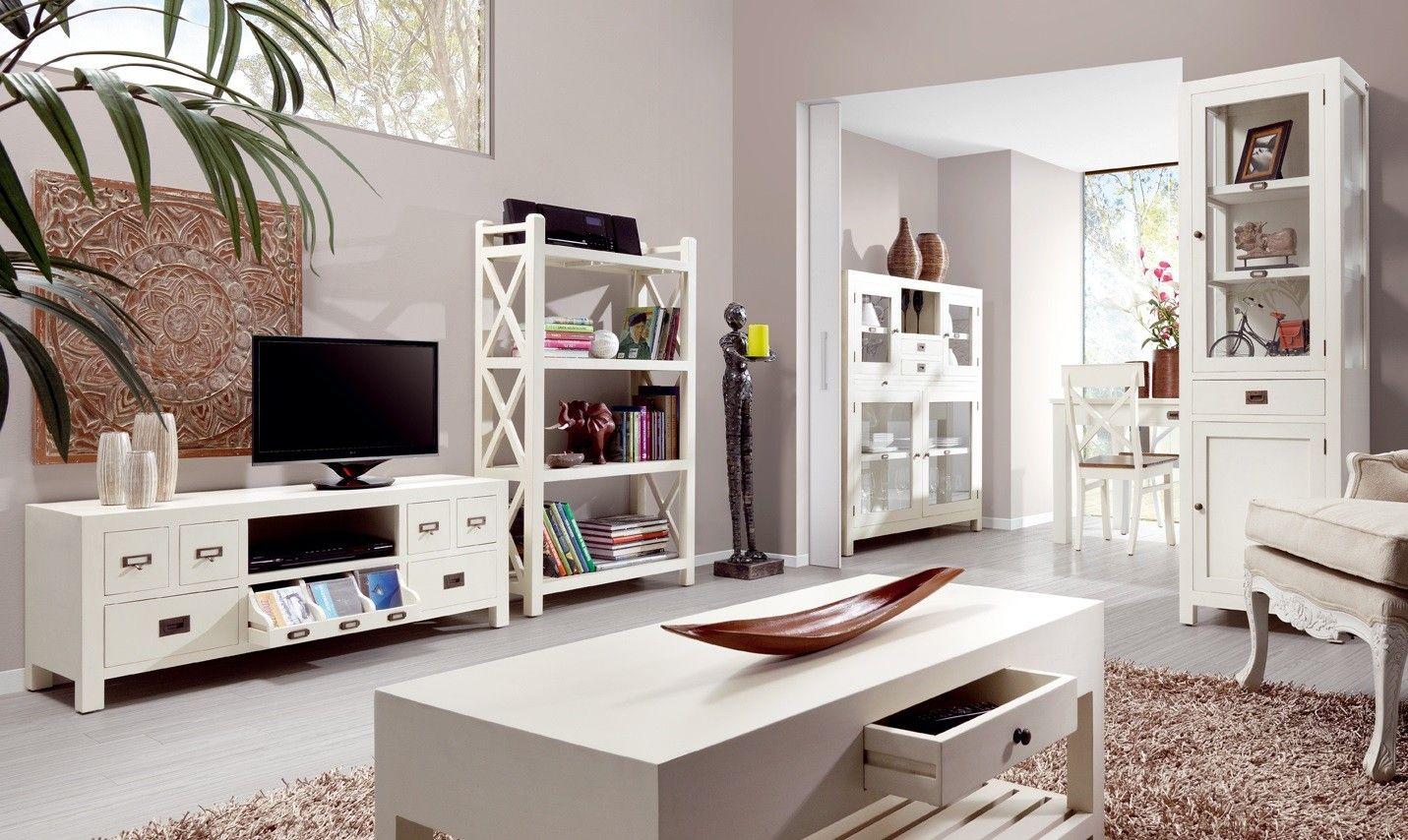 Vitrina blanca grande jazmin vitrinas comedor vitrinas for Composiciones modulares para salon
