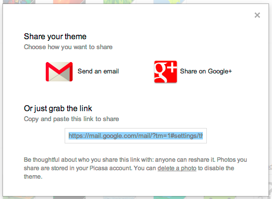 Gmail Themes Gmail Help Theme Gmail Thoughts