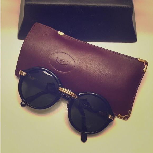 46ae05d65f Authentic Cartier Cabriolet Sunglasses Authentic black