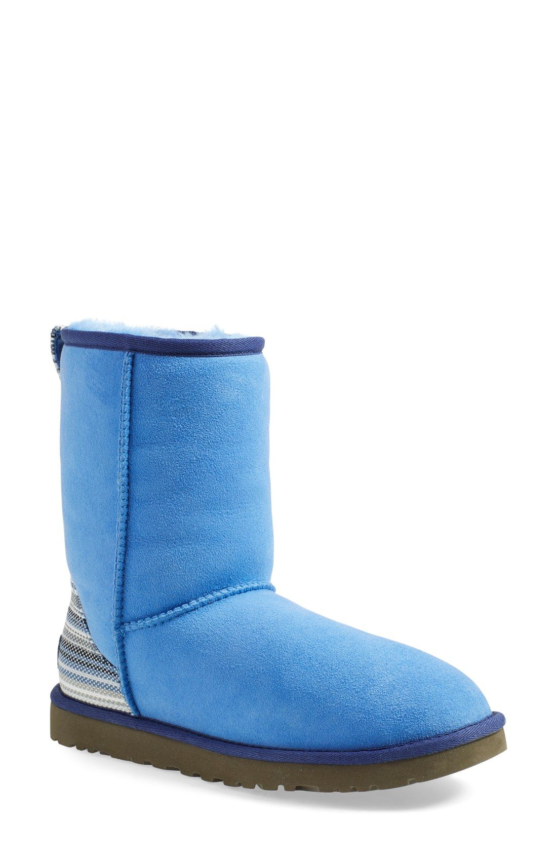 UGG® 'Classic Short - Serape' Water Resistant Boot (Women)   Nordstrom