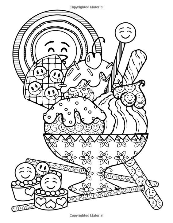 Pin By Brittany On Coloring Food Drinks Emoji Coloring Pages Cute Coloring Pages Valentine Coloring Pages