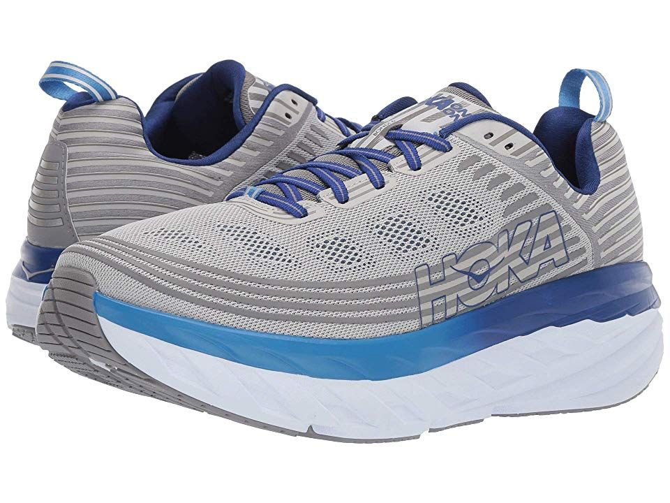 Hoka One One Bondi 6 Men\u0027s Running Shoes Vapor Blue/Frost