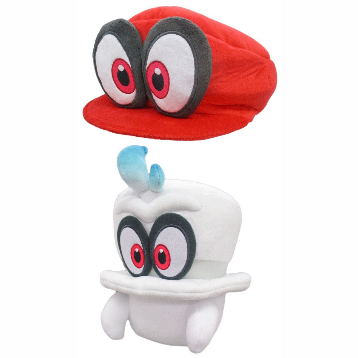 Super Mario Odyssey Cappy Plush Collection | Game Related Stuff