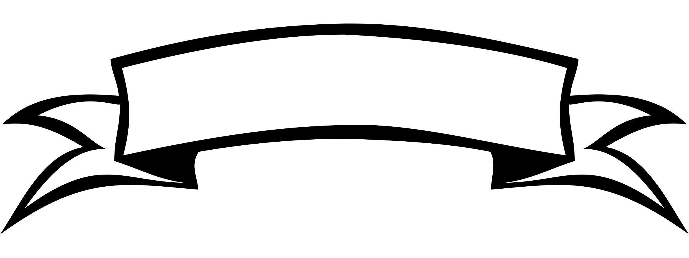 Black And White Banner Png Theveliger With White Banner Png 10161 Hitam Dan Putih Clip Art Gambar Garis