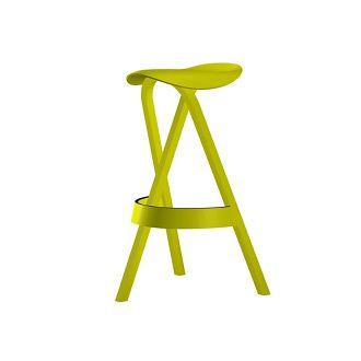 Stefan Diez 404h Stool - Standing on three legs, it is striking and unmistakable.