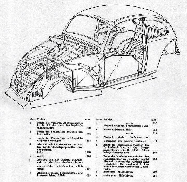 Pin by Robert Aldworth on VW Beetle documents