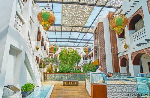 Interior of Gold Souq, on Feb 13, 2018 in Doha, Qatar , #spon, #Souq, #Feb, #Interior, #Gold, #Doha #Ad