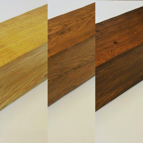 Light oak mantel