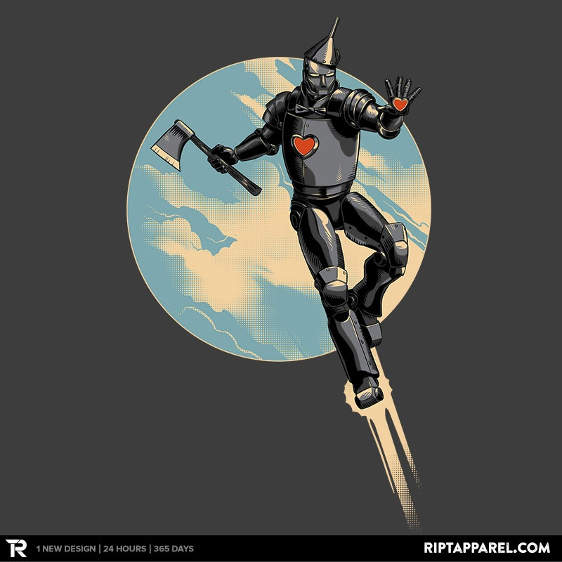 Invincible Tin Man by whiskysteaks