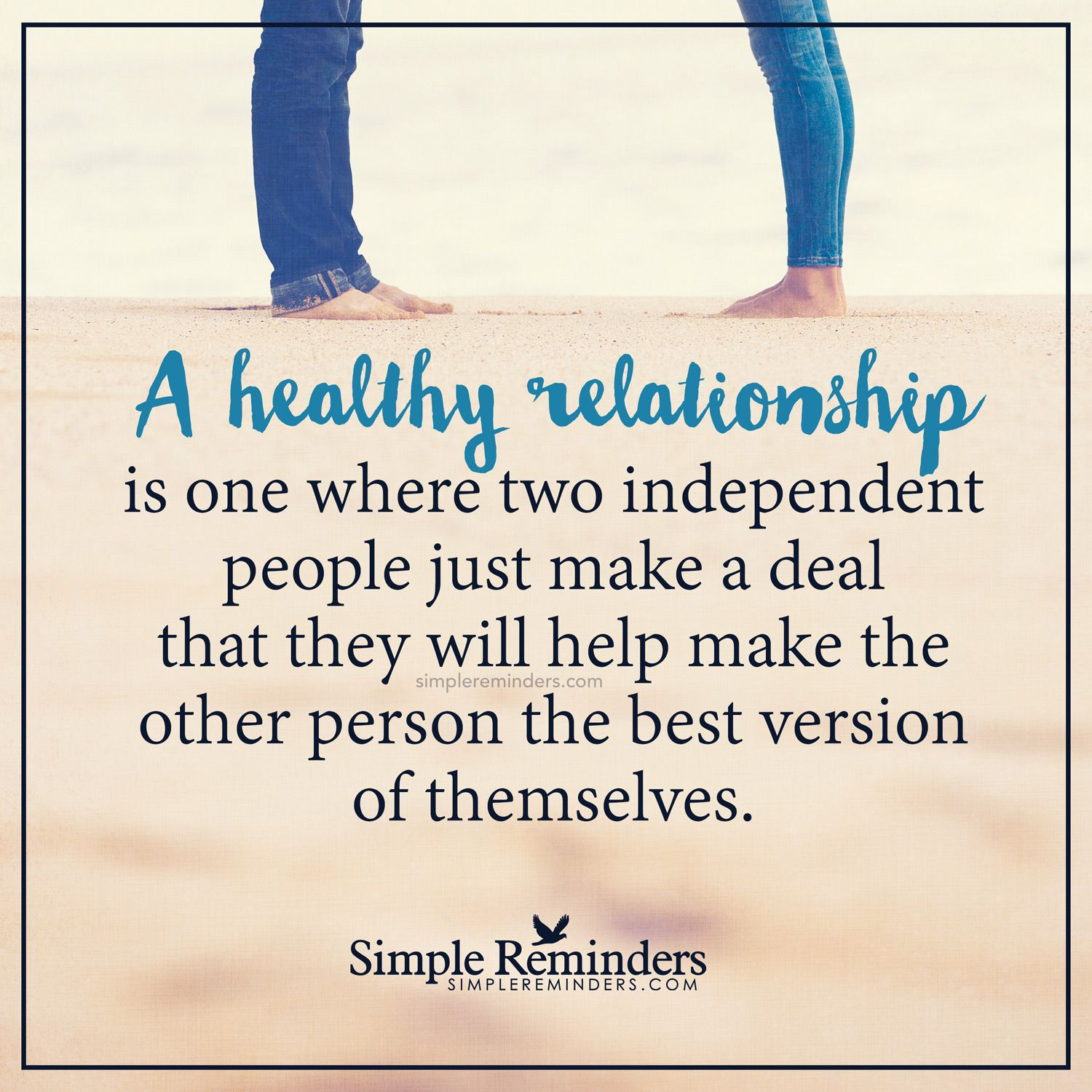 A Healthy Relationship By Unknown Author
