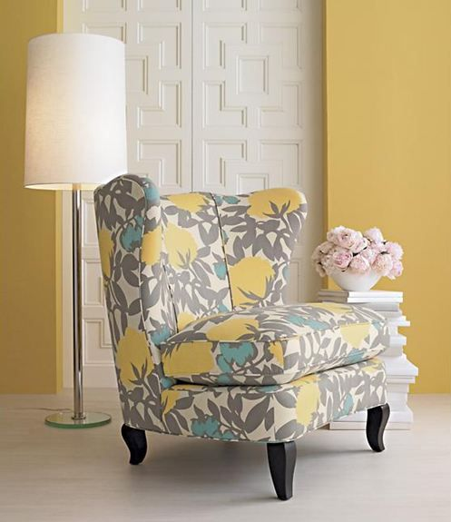 Best Yellow And Grey Decor Bing Images Love The Little Pop Of 400 x 300