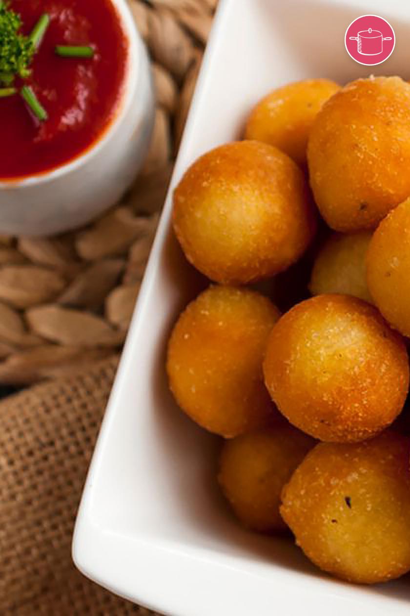 كرات بطاطس مقلية Recipe In 2021 Food Recipes Pretzel Bites