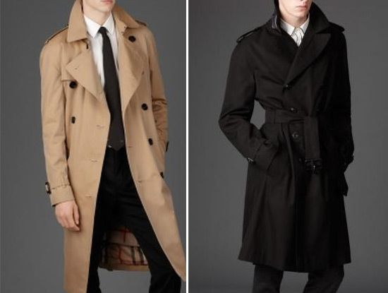 Burberry Trench Coats For Men | Fashion Join | Leather Stylish ...