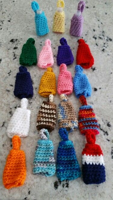 Crochet Mini Mini Hand Sanitizer Holders Crochet Phone Cases