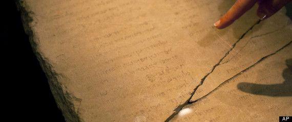 Gabriel Stone: Jerusalem Unveils Mysterious Hebrew Tablet