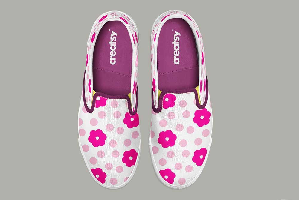 Free Slip On Shoes Mockup In Psd Shoes Mockup Psd Slip On Shoes On Shoes Shoes