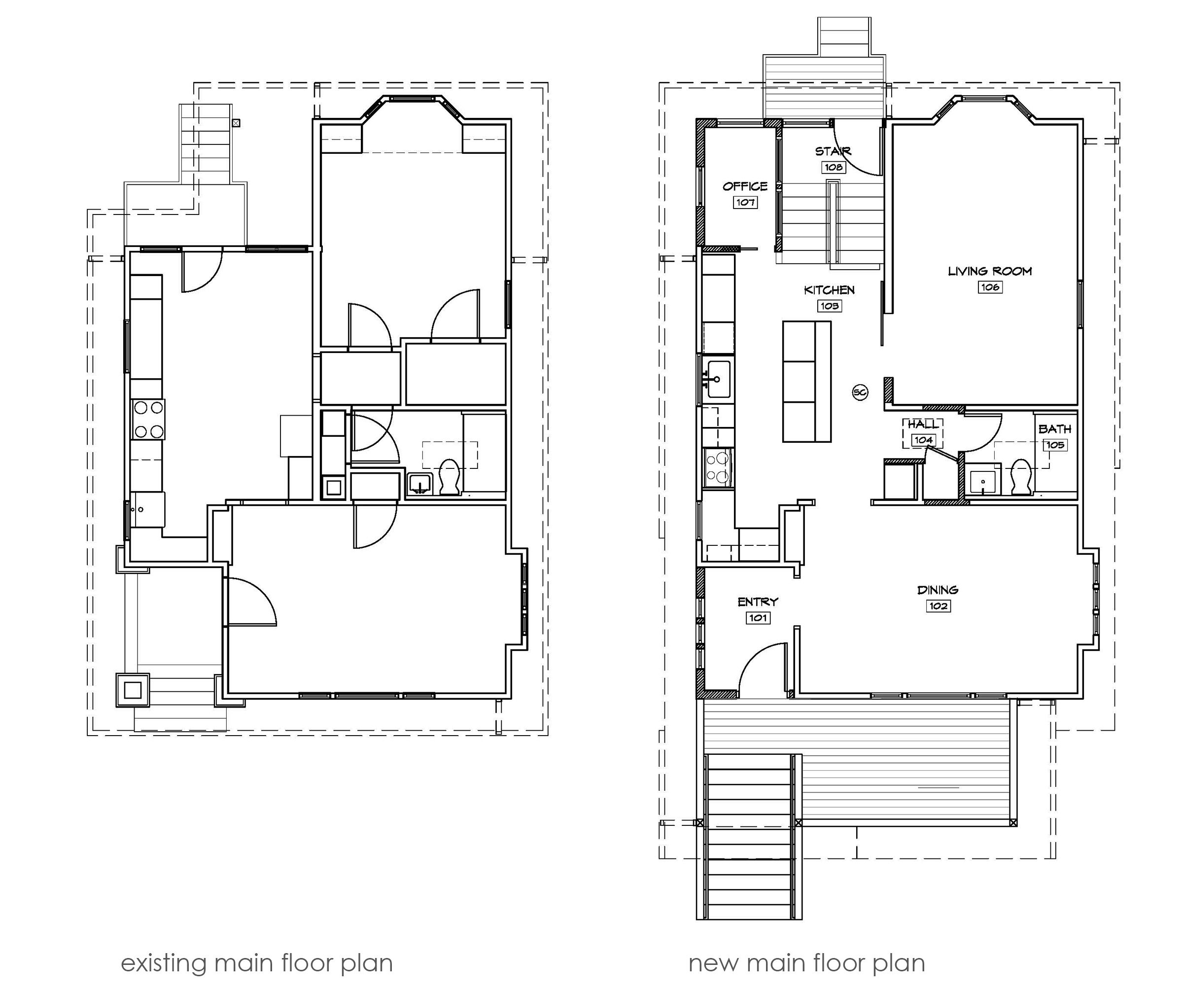 House exterior basement first floor second floor google search two architects on a diy mission to remodel their 1910 fixer upper in seattle into a modern and sustainable home for their growing family malvernweather Choice Image