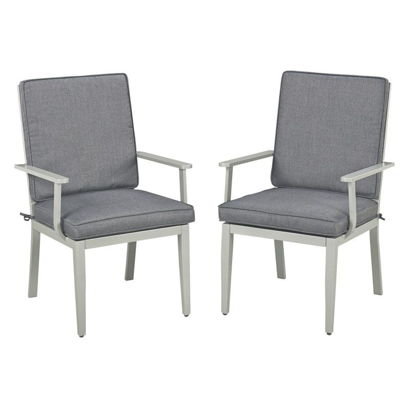 Outdoor Home Styles South Beach Dining Arm Chair Set Of
