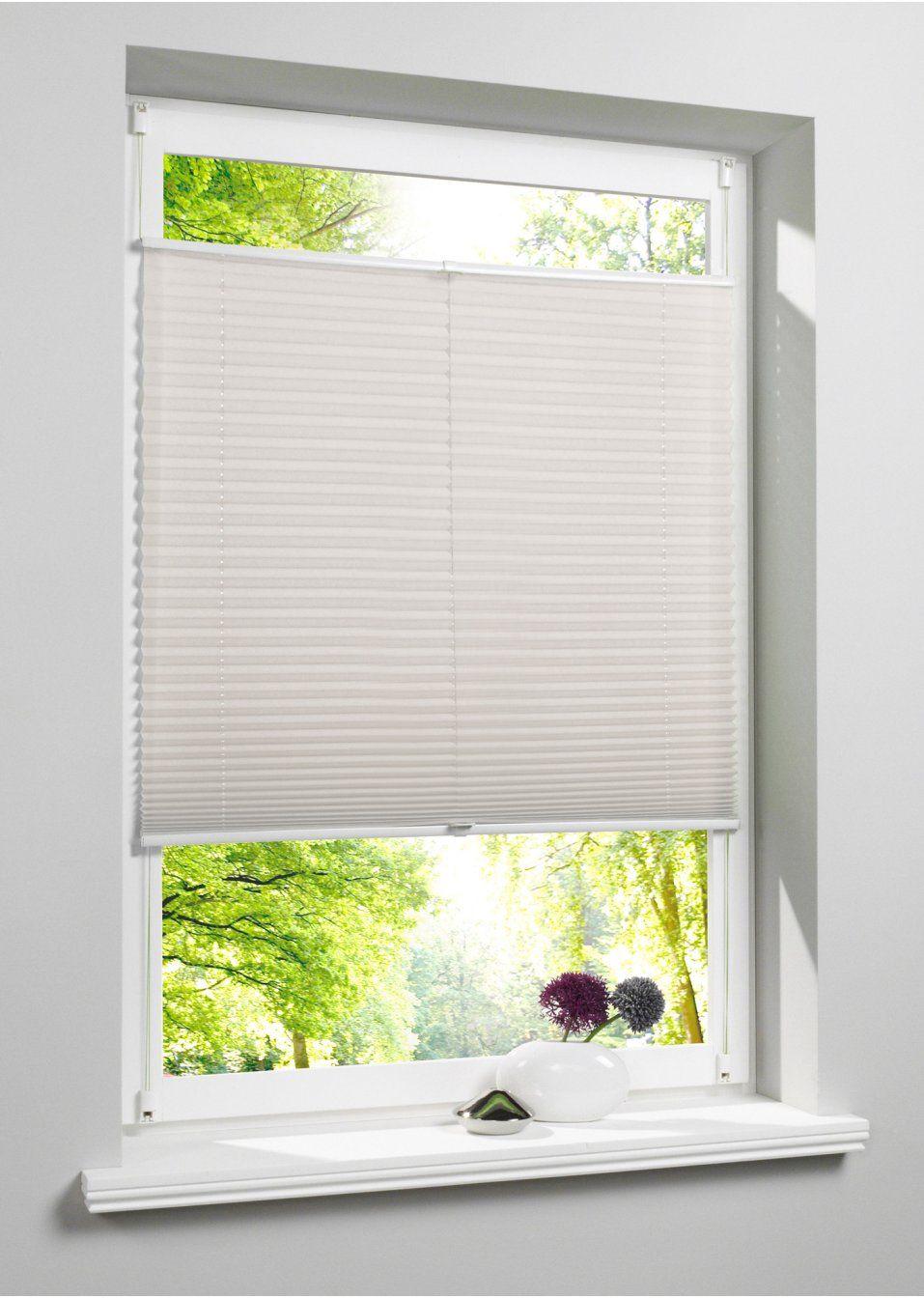 Sichtschutz Ohne Verdunkelung Creme Klemmträger Plissee Ohne Bohren Plissee Vorhänge Fensterflügel