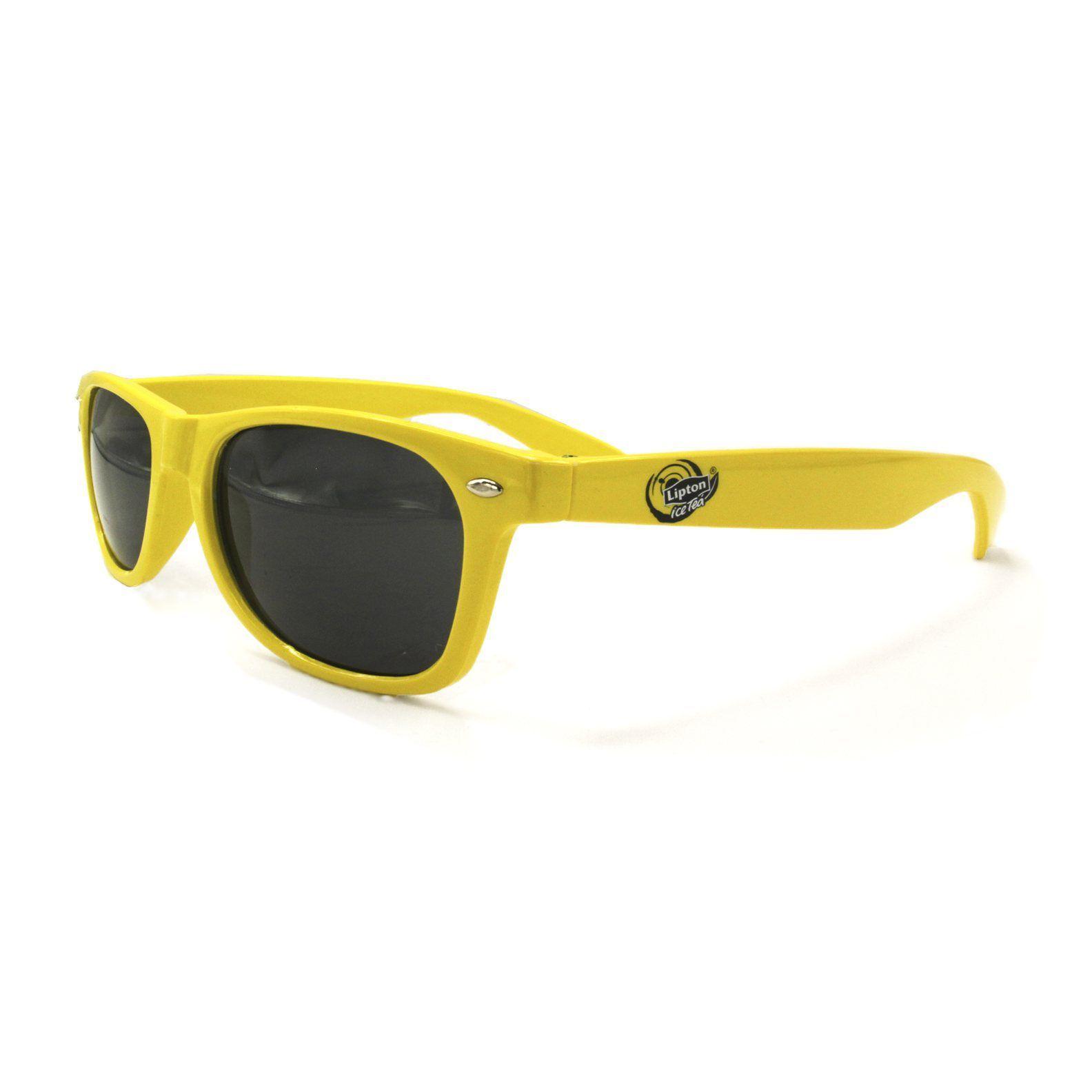 lunettes de soleil publicitaires personnalisés Lipton   Lunettes ... 73b61afe515c
