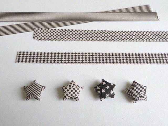 comment fabriquer des toiles en origami toiles en. Black Bedroom Furniture Sets. Home Design Ideas