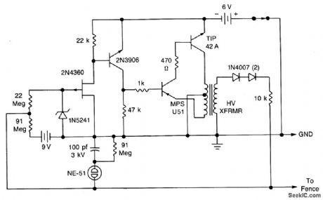 electric fence energizer circuit diagram 12v best image wallpaper rh pinterest com