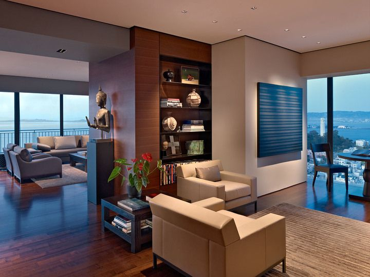Zack De Vito-This high-rise apartment, designed for a couple with ...