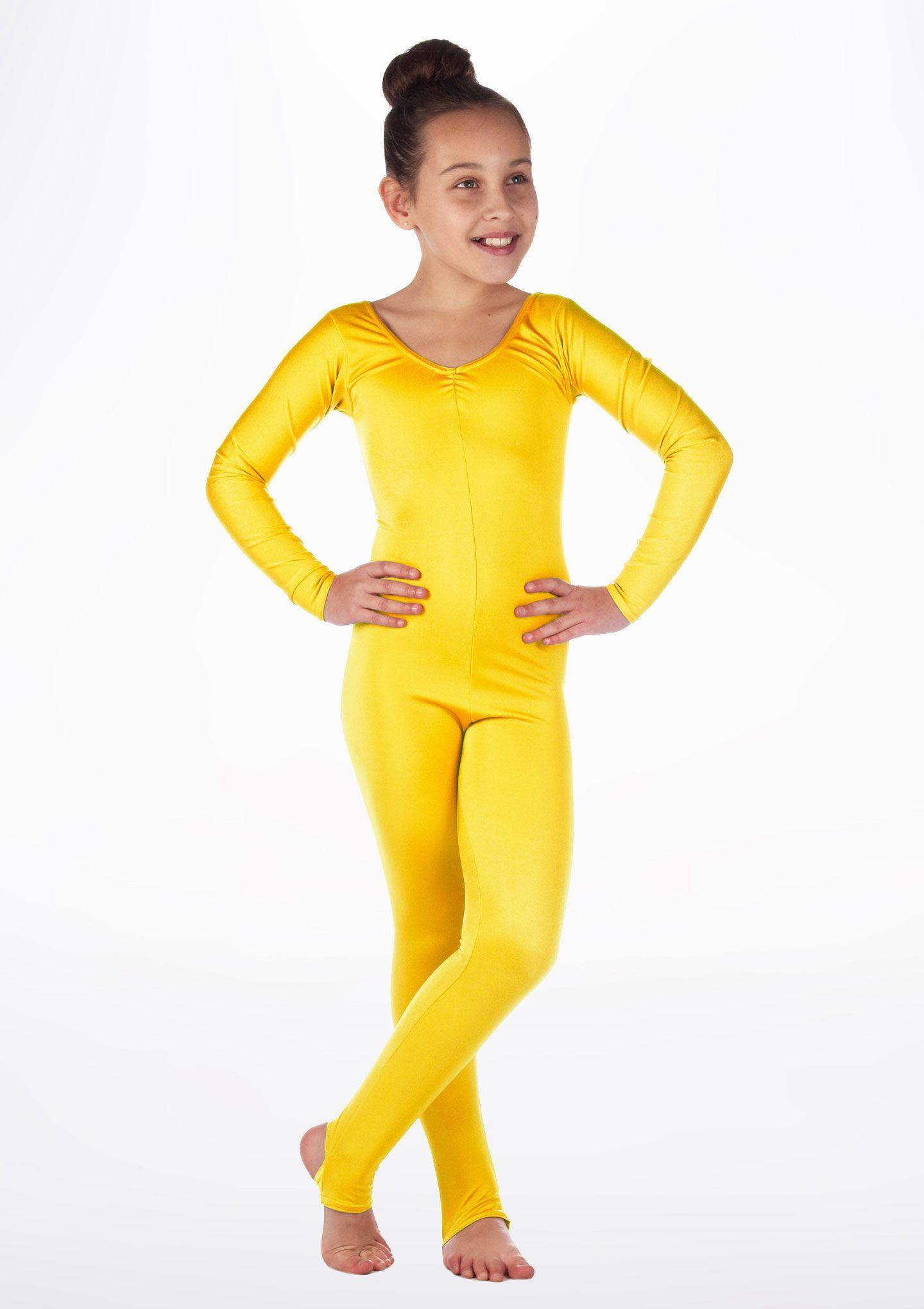 de71600103316d Alegra Girls Shiny Blaine Catsuit   Holidays - Halloween   Catsuit ...