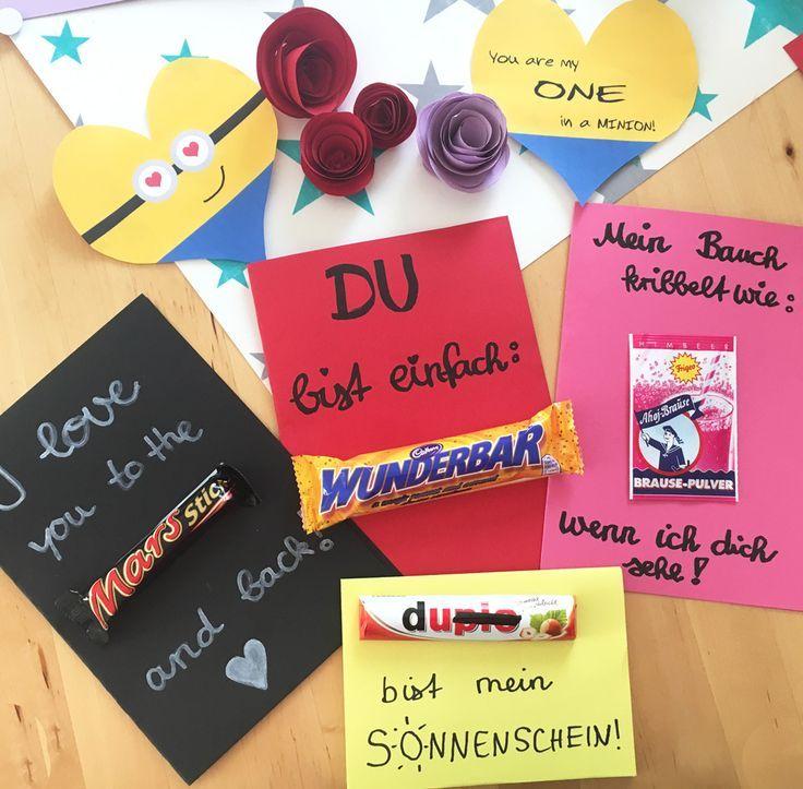 Die besten & einfachsten DIY Ideen zum Valentinstag (Karten, Snacks, Deko) findet ihr jetzt in meinem neuen Blogbeitrag auf www.moms-blog.de