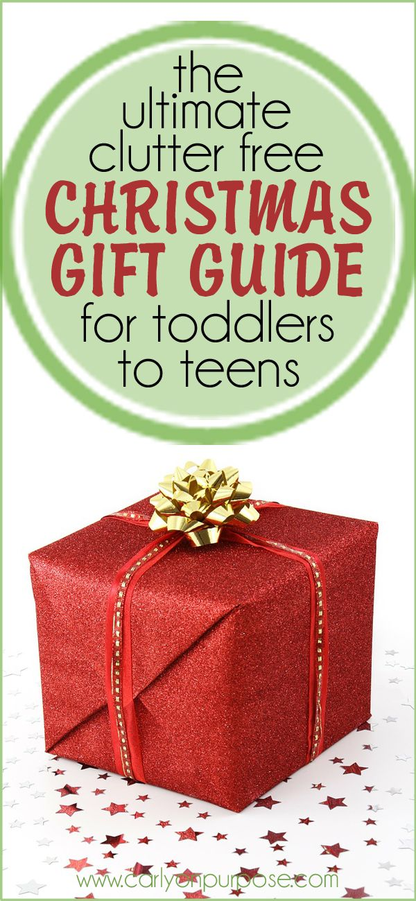 The Ultimate Clutter Free Christmas Gifts Guide - For Little People