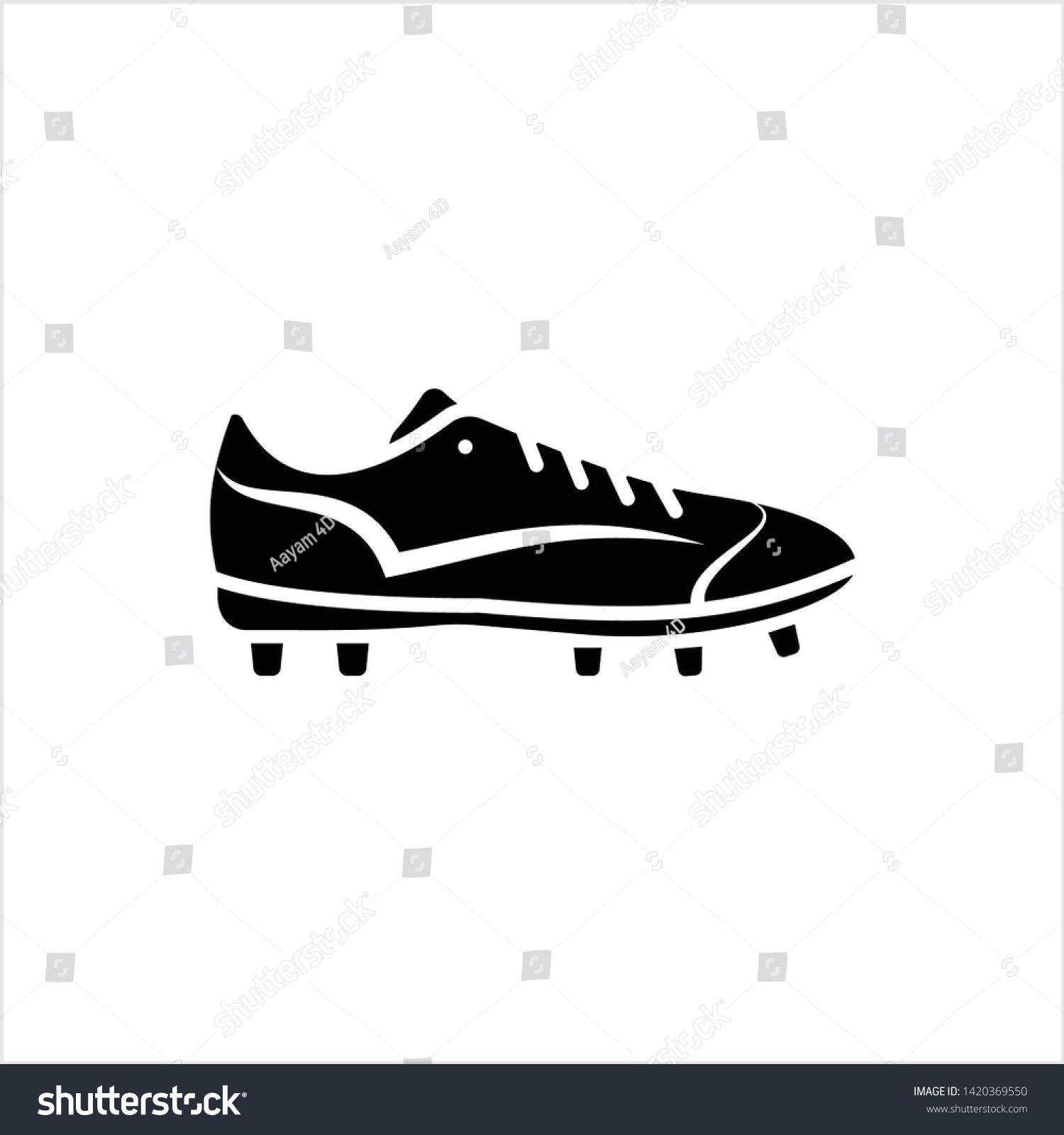 Soccer Shoe Icon Sport Shoe Icon Vector Art Illustration Ad Sponsored Icon Shoe Soccer Sport