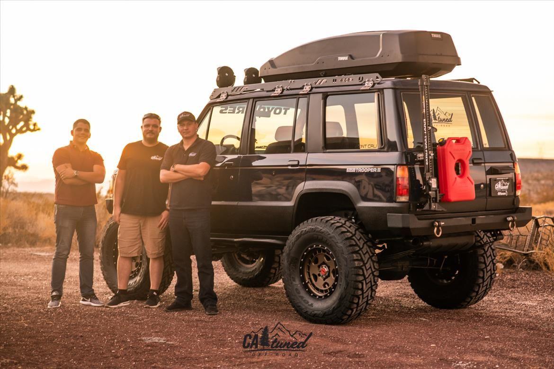 Project 1988 Isuzu Trooper Build Sema 2018 Catuned Off Road