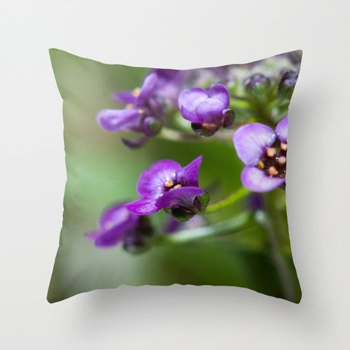 Alyssums Pillow Throw Pillow Covers Accent Bed Pillow Floral Cushion Cover Shabby Chic Home Decor Victoria Floral Cushion Covers Pillows Floral Floral Cushions