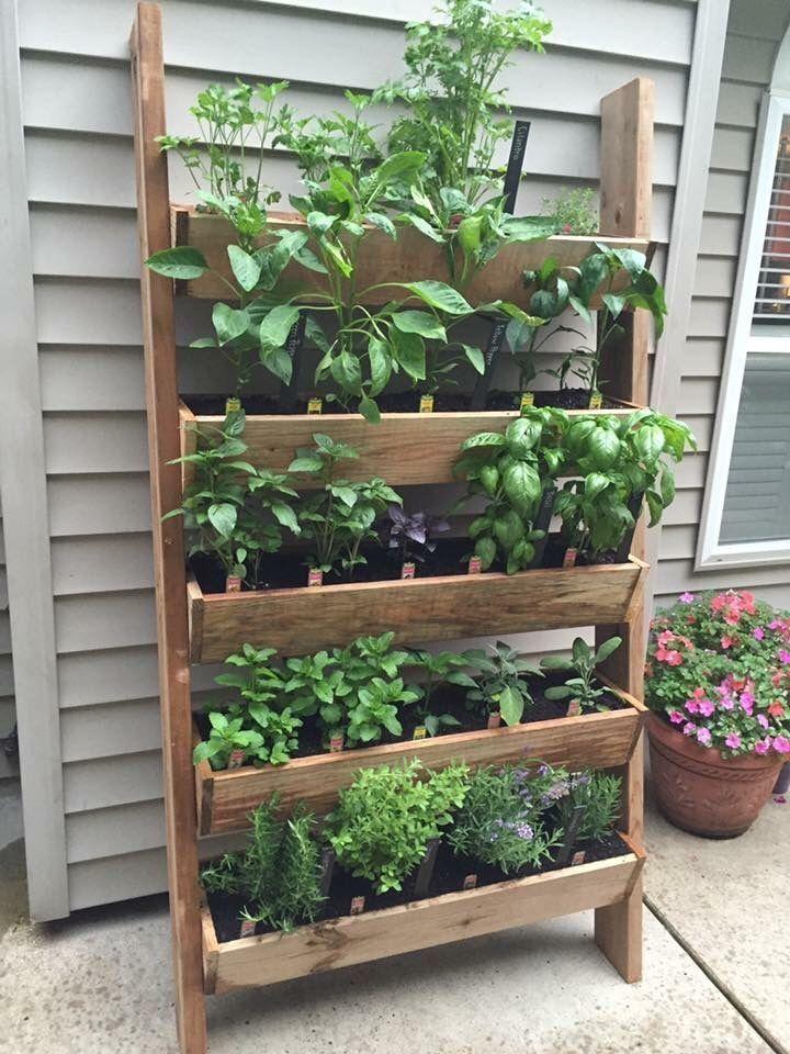 45 günstige DIY Design Ideen für einen Gemüsegarten – Gardens