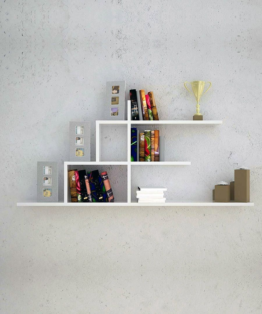 20 creative bookshelves contemporary and unique design for Creative shelf ideas
