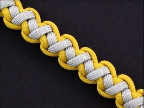How to Make a Tomahawk Sinnet Bracelet by TIAT | Paracord